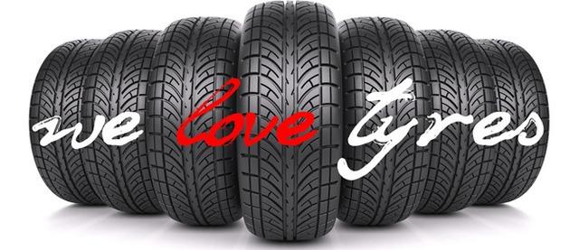 we love tyres
